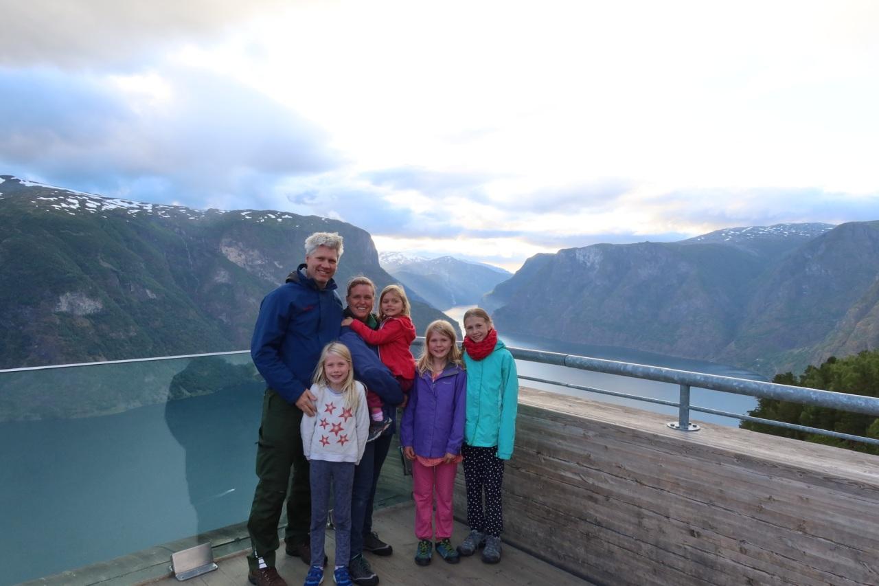 Oslo to Bergen:Aurland