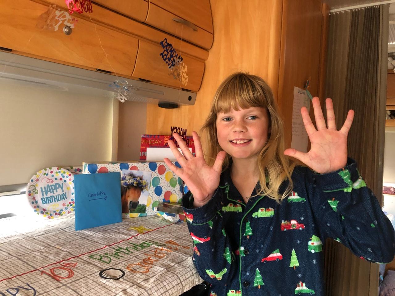 Charlotte turns 10!