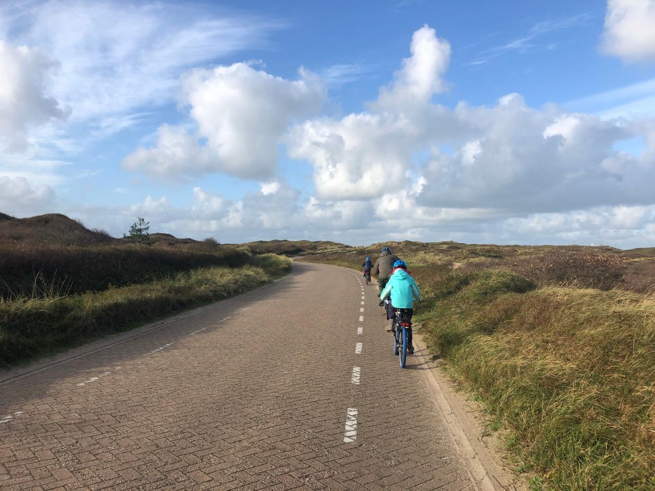 Biking on Texel